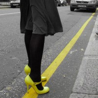 "Yellow line - selected for onelife photo competition - click on the picture and then ""collect me"""